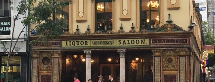 The Crown Liquor Saloon is one of Ale : понравившиеся места.