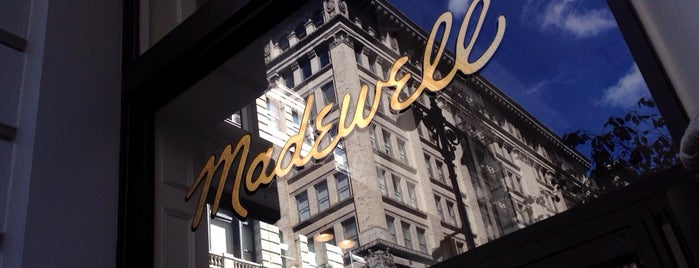 Madewell is one of New York 2018.