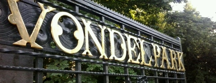 Vondelpark is one of Amsterdam.