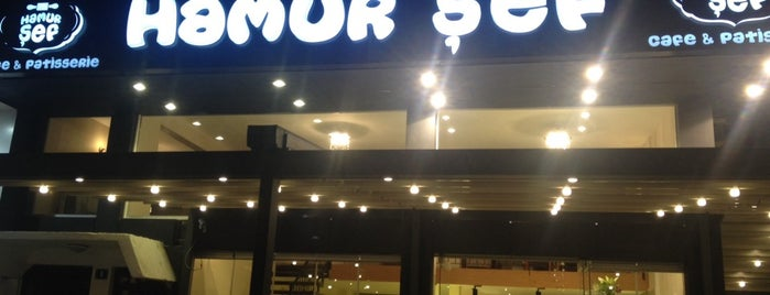 Hamur Şef Cafe & Patisserie is one of Lieux qui ont plu à Gülşen.