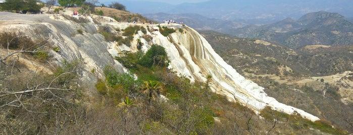 Hierve el Agua is one of Oaxaca.