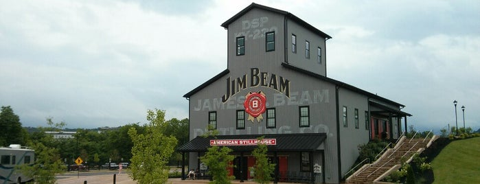 Jim Beam American Stillhouse is one of America's Top 20 Distilleries.