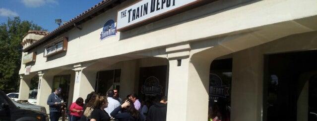 The Train Depot is one of Locais curtidos por Josef.