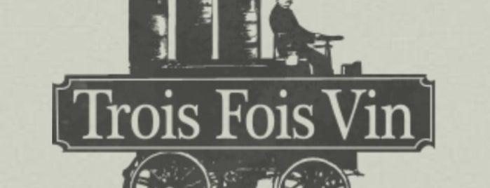 Trois Fois Vin is one of Paris🍷🇫🇷.
