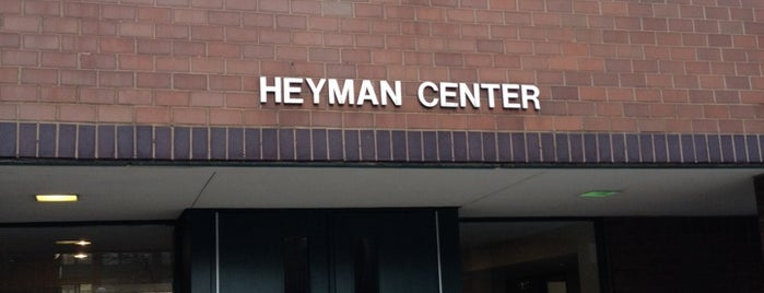 Heyman Center for the Humanities is one of Tempat yang Disukai Will.