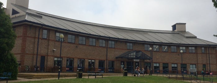 Guildford College is one of Tempat yang Disukai Eric.