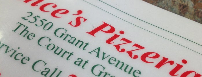 Vince's Pizzeria is one of Philadelphia Food & Drink.