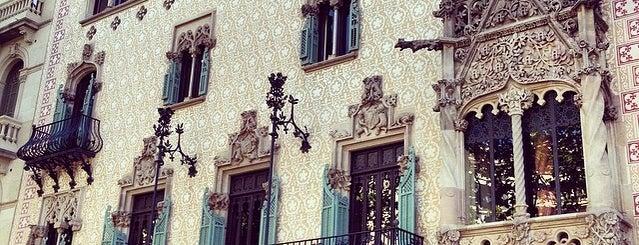Casa Amatller is one of Ruta a l'Eixample. La ruta del modernisme.