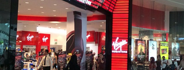 Virgin Megastore is one of Locais curtidos por Pavel.