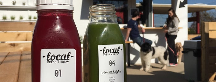 Local Press + Brew is one of 50 Cult-Favorite Juice Bars.