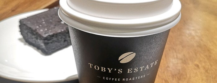 Toby's Estate Coffee Roasters is one of Shank : понравившиеся места.