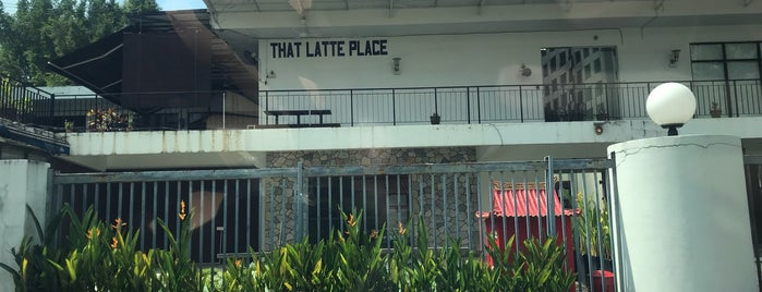 That Latte Place (1st floor) is one of Kuala Lumpur.