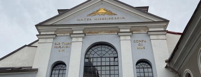 Aušros Vartų Dievo Motina is one of Locais curtidos por Ekaterina.