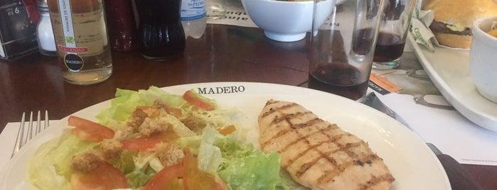 Madero Steak House is one of Locais salvos de Roger.