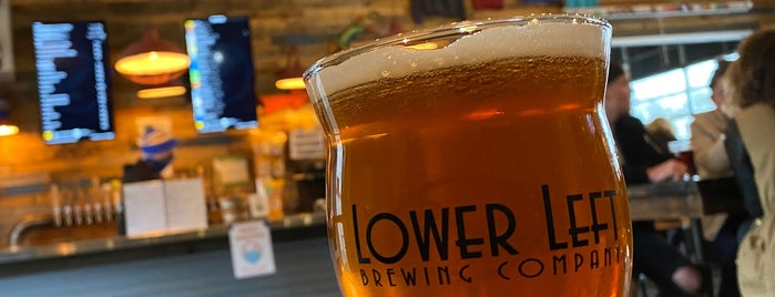 Lower Left Brewing Co. is one of Breweries or Bust 4.
