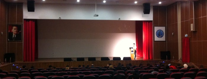 İbrahim Küçükkurt Konferans Salonu ve TV Stüdyoları is one of Tempat yang Disukai Yalçın.