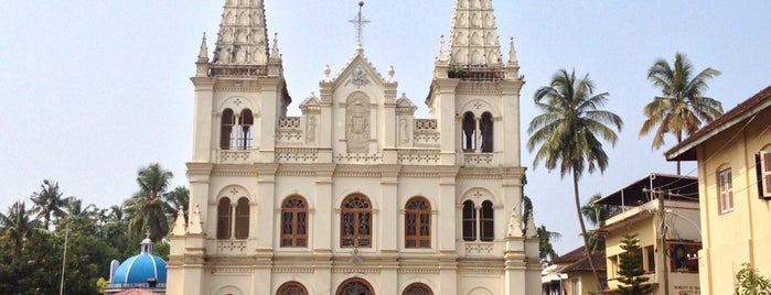 Santa Cruz Basilica is one of Incredible India.