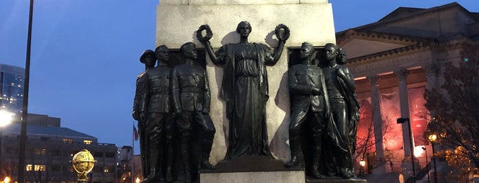 All Wars Memorial to Colored Soldiers and Sailors is one of Phillychisteik.