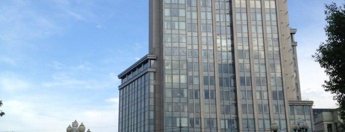 Gorky Park Tower is one of Офисы, в которых можно подписаться на фрукты (ч.2).