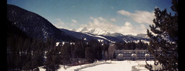 Keystone Lakeside Village Ice Rink is one of Winter Family Activities at Keystone!.