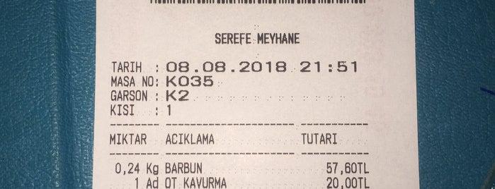 Meyhane Şerefe is one of Begüm'un Beğendiği Mekanlar.