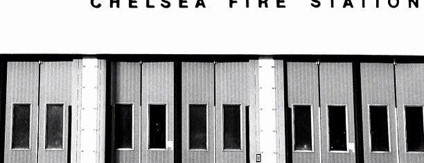 Chelsea Fire Station is one of ESTADIOS DE FUTEBOL.