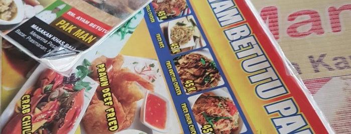 Ayam Betutu Pak Man is one of Must-visit Food in Bali.