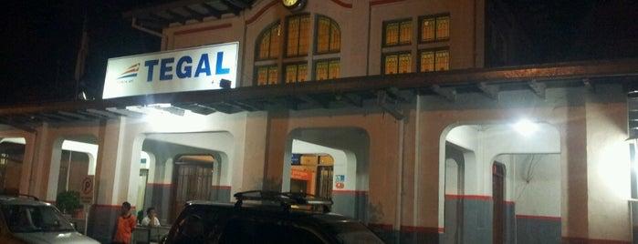Stasiun Tegal is one of Tegal.