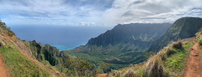 Kalalau Lookout is one of Kauai.