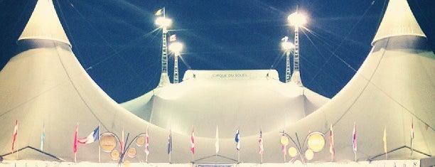 Cirque du Soleil - Kooza is one of Locais curtidos por William.