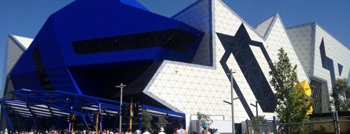 Perth Arena is one of Orte, die Ben gefallen.