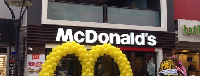 McDonald's is one of Can 님이 좋아한 장소.