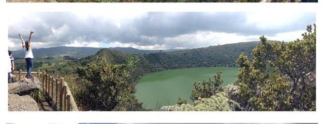 Laguna De Guatavita is one of Colombia.