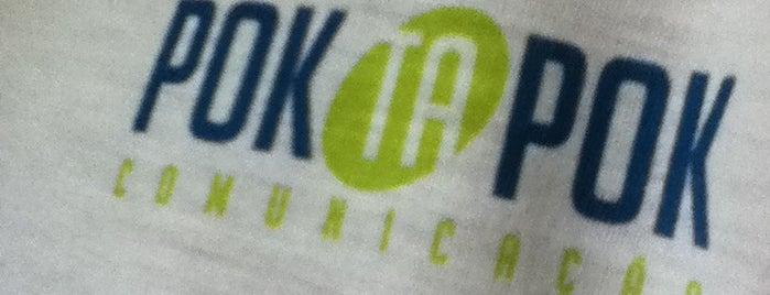 Agência de Comunicação Pok ta Pok is one of Adriano : понравившиеся места.