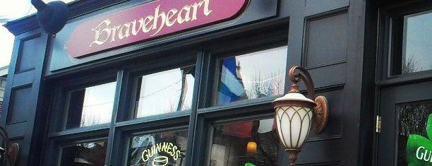 Braveheart Highland Pub & Restaurant is one of สถานที่ที่บันทึกไว้ของ Jessica.