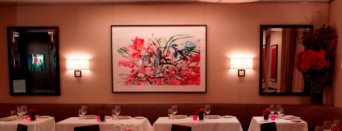 Café Boulud is one of NYC Manhattan East 65th St+.