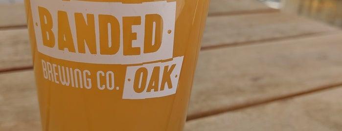 Banded Oak Brewing is one of Denver, CO 🌤 🏞🍺.