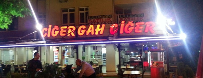 Ciğergah Ciğer Kebap is one of Ayhan 님이 저장한 장소.