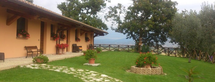 "Agriturismo ""I Mille Ulivi"" is one of ri-storo."