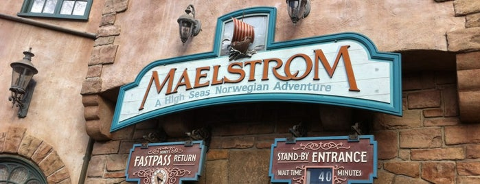Maelstrom is one of Walt Disney World.