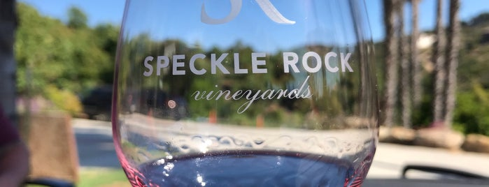 Speckle Rock Vineyards is one of SD Drinks.