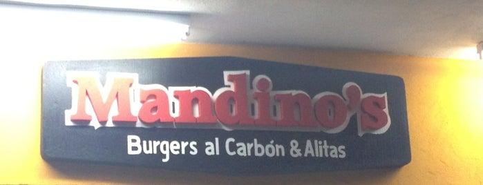 Mandino's is one of restaurantes.