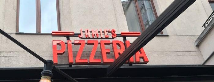 Jamie's Pizzeria is one of Lugares favoritos de Barry.