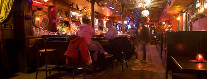 Freddy's Bar is one of Esquire's Best Bars in New York, 2013.