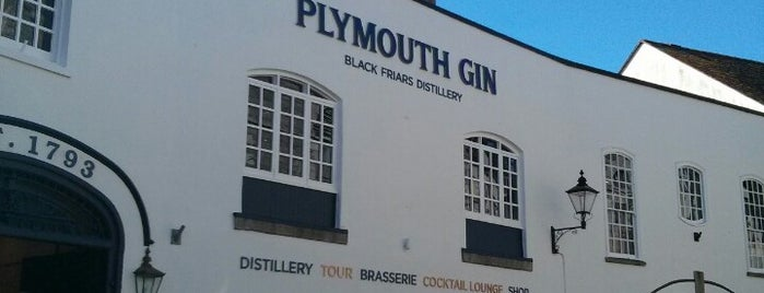 Plymouth Gin Distillery is one of Locais curtidos por dyvroeth.