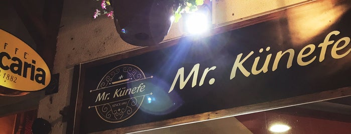 Mr.Künefe is one of Sarajevo.