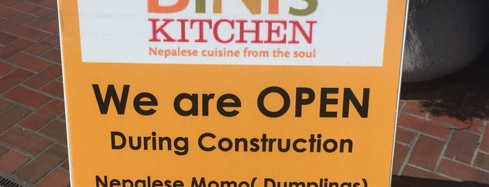Bini's Kitchen is one of California.