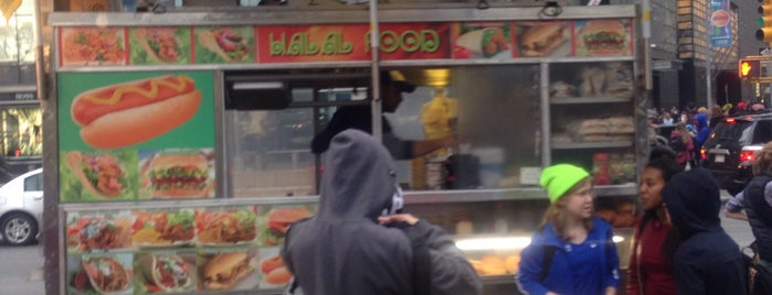 Halal Man Columbus Circle is one of Food Truck.