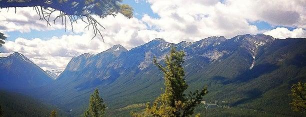 Tunnel Mountain Trailhead is one of Alberta.