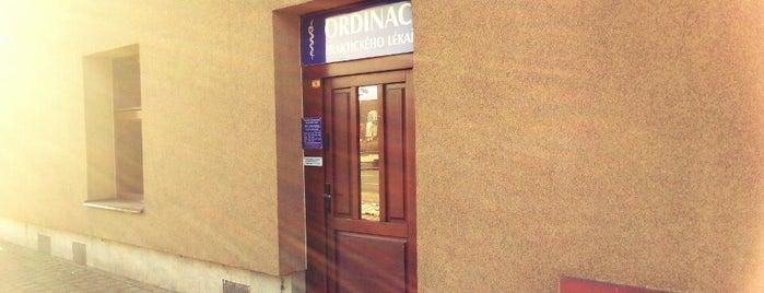Ordinace Praktického Lékaře - MUDr. Fussková, s.r.o. is one of Lukáš'ın Beğendiği Mekanlar.